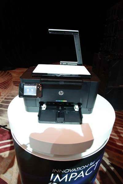 HP unveiled a range of printers with wireless ePrint capability; AirPrint, allowing users to print from Apple devices over 3G; Google cloud print capability, as well as a selection of applications in PrintApps.