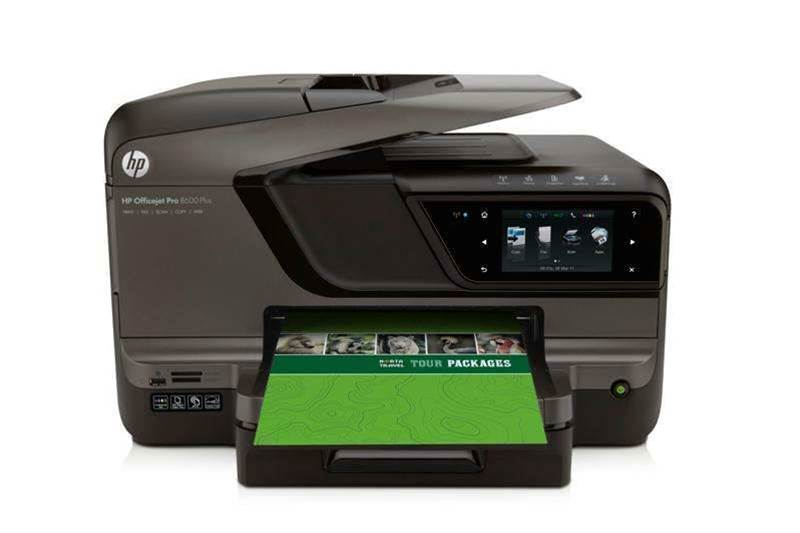 Officejet Pro 8600 Plus e-All-in-One comes with inks that resist highlighter-pen smearing. Retails for $499.