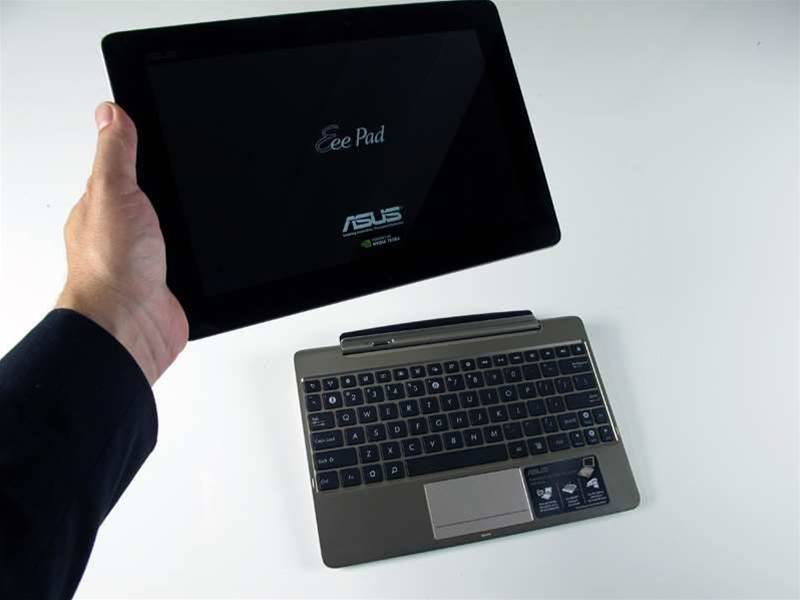 In Pictures: Asus Eee Pad Transformer Prime unboxing