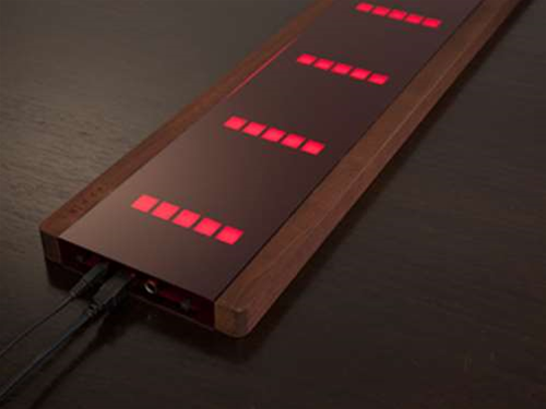 "<h2>Airpiano</h2> <b><a href=""http://www.airpiano.de"" target=""_blank"">airpiano.de</a></b>  Using eight proximity sensors, this futuristic wood and glass 'piano' will play without you touching it – just wave your hands above it and tunes will happen. <br><br> If you're just flailing about, the Airpiano will sound terrible but 40 LEDs provide virtual keys for guidance and when you hook it up to your PC or Mac you can assign keys and faders and save presets. <br><br> No doubt Björk's strapped a load of Airpianos to her walls and is causing a beautiful synth racket as we write."