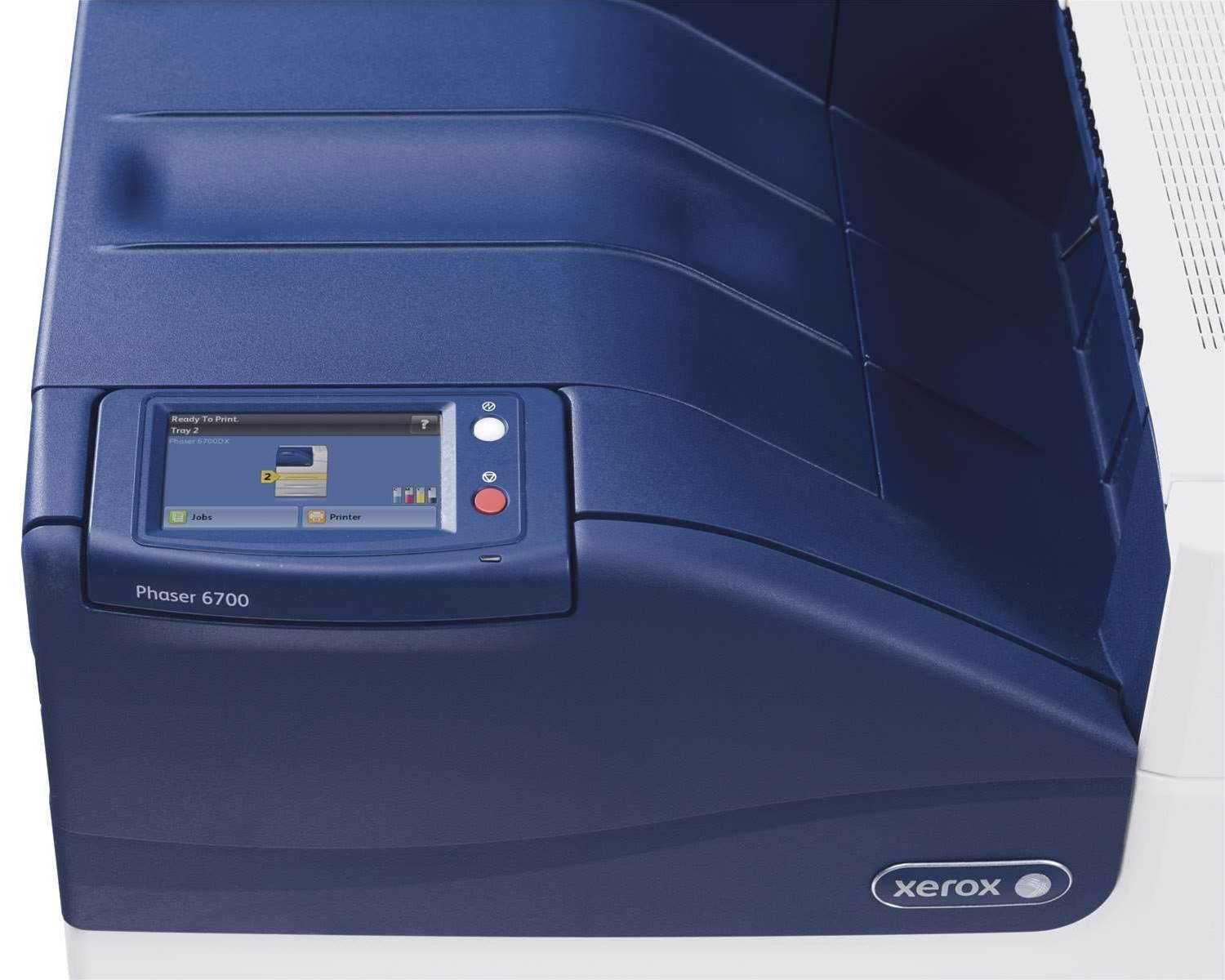 Also features a 4.3in colour touch screen and colour matching technology seen in the Phaser 7800.
