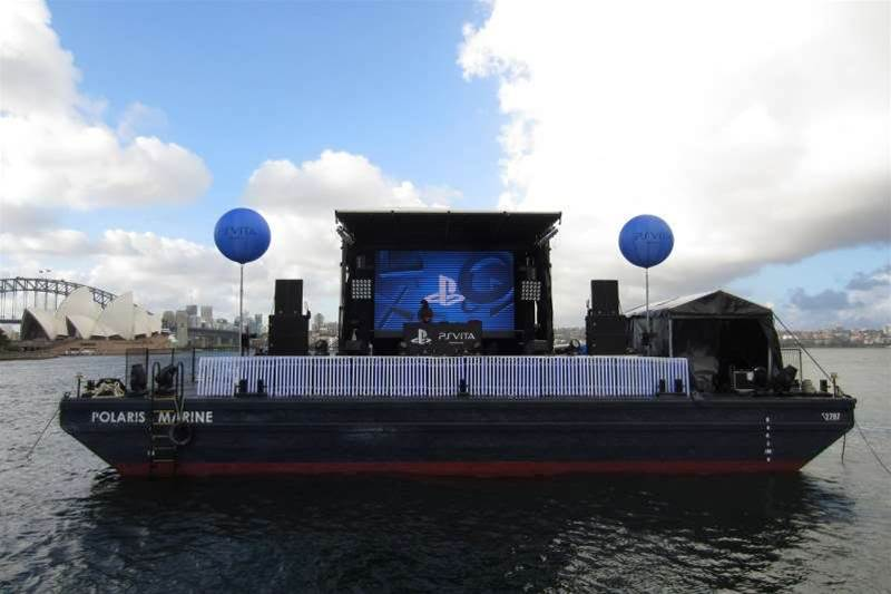 <h2>In Pictures: PlayStation Vita Australian launch party</h2>The view from across the pond: this DJ must have felt a bit lonely.