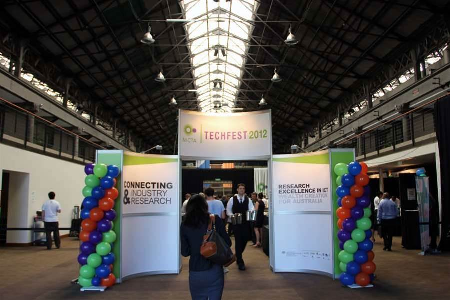NICTA's seventh annual technology showcase attracted some 600 visitors to the Australian Technology Park.