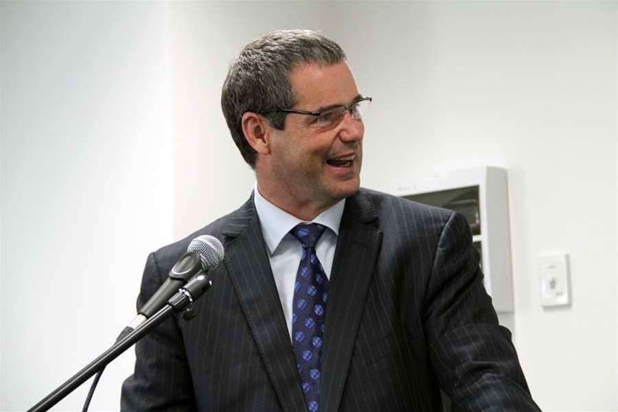 "The launch was attended by Federal Minister for Broadband, Communications and the Digital Economy, Senator Stephen Conroy, who described the National Broadband Network as a ""platform"" on which digital productivity improvements could be built."