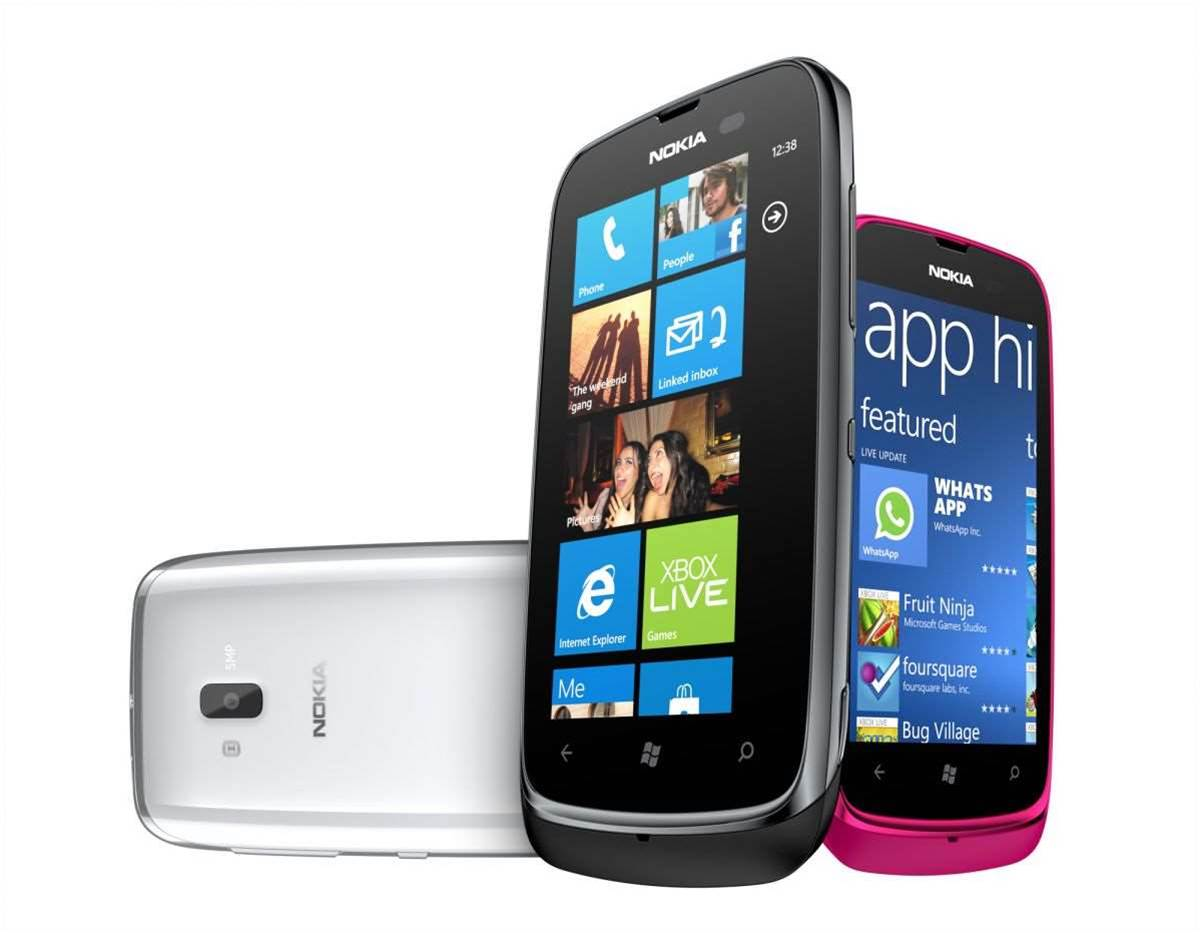 In pictures: Nokia showcases new smartphones at MWC 2012