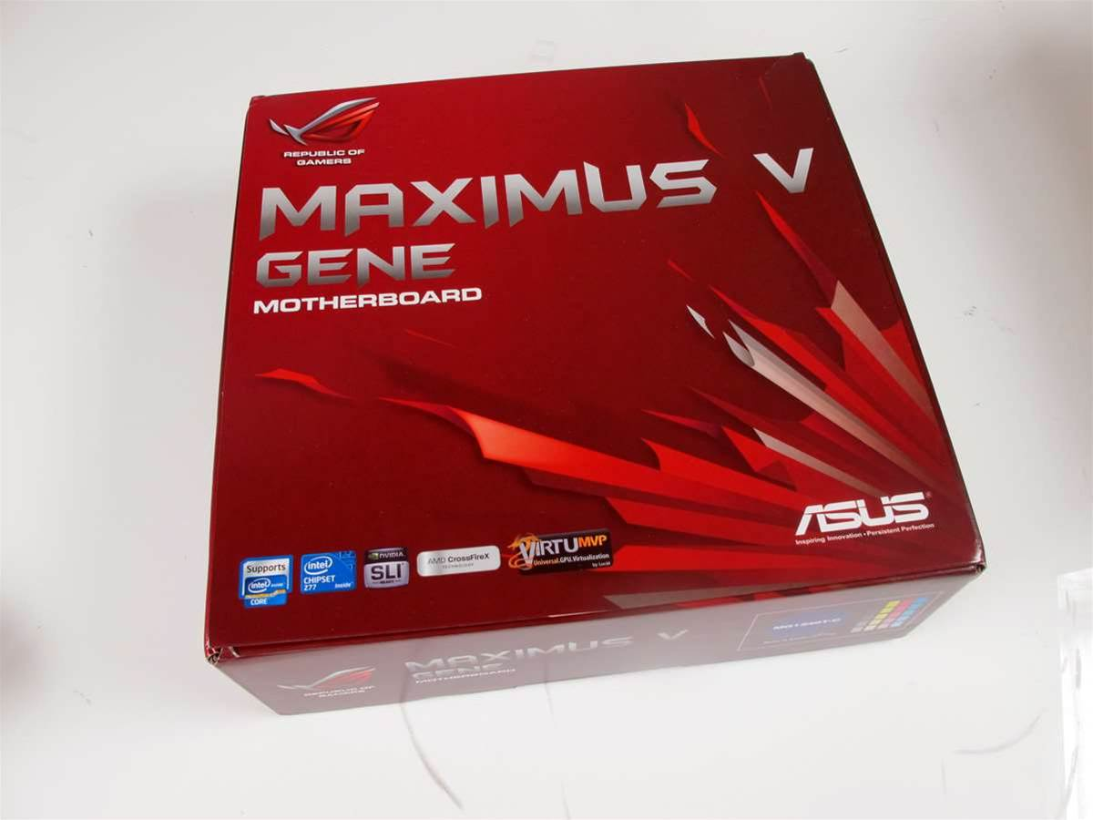 First Look: ASUS' Z77 based ROG Maximus V Gene motherboard