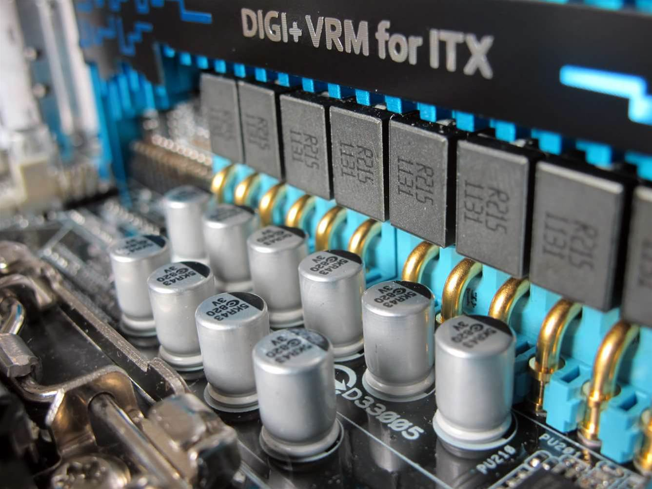 With more and more chipset features moving onto the CPU, Mini-ITX is increasingly viable as a fully featured motherboard solution.