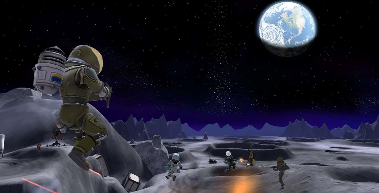Battlefield: Heroes - Lunar Landing map