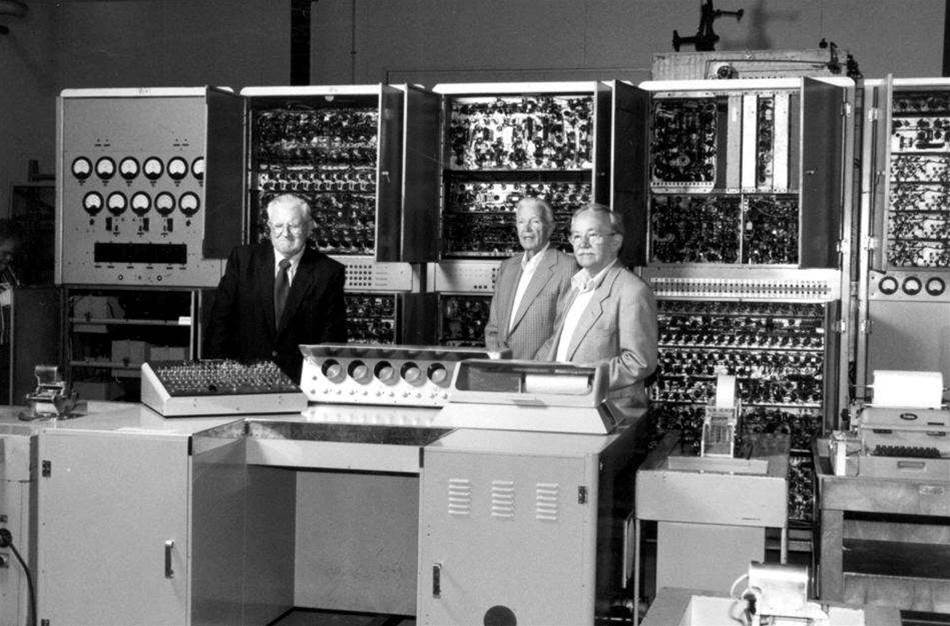 "<h2>CSIRAC: Australia's first digital computer</h2>We spend most of our waking hours testing the latest hardware to come through our labs, but like a lot of technology users we find the old stuff can sometimes be equally fascinating. 63 years ago, CSIRAC - pronounced ""sigh-rack"" - ran its first test program at the CSIRO Radiophysics Laboratory in Sydney. It was Australia's first digital computer and only the fourth stored program computer in the world. Using valve technology and World War II radar systems as a starting point, the CSIRAC was built largely independently from similar ventures overseas. <br><br>In the following article, we take an look back at CSIRAC through a series of vintage and modern day photographs (most of which were kindly supplied by the Museum of Victoria). To learn more about this fascinating local IT milestone, take a look at the rest of the gallery. <strong>Click the photos to enlarge them.</strong><br><br><i>[Image credit: Museum of Victoria]"
