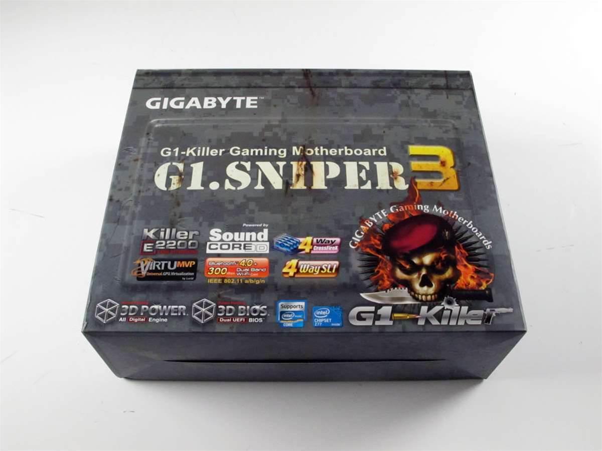Unboxed: Gigabyte G1.Sniper 3