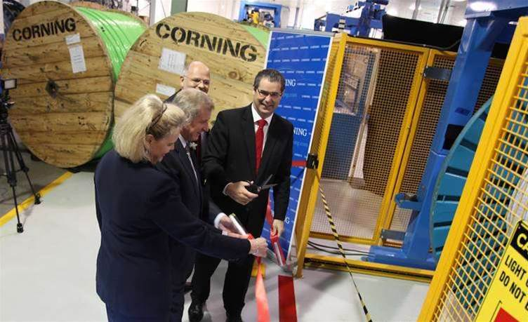 Photos: Corning's NBN cable manufacturing facility