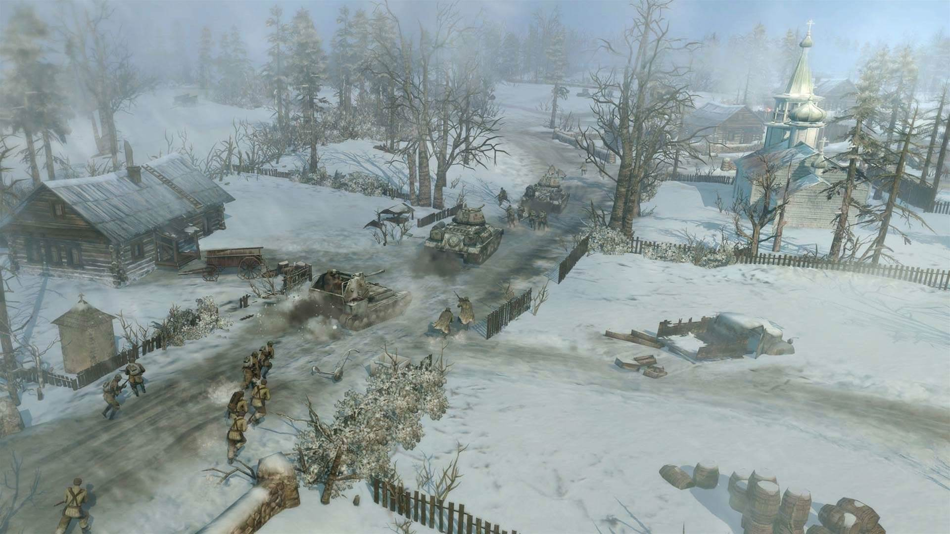 Five new screens from Company of Heroes 2