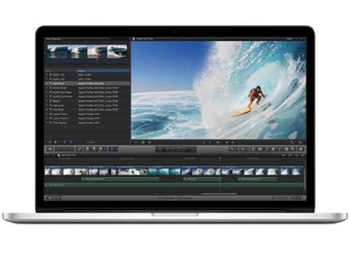 Apple's first Retina Display MacBook crams in more pixels than any other laptop in the world, with 5.1 million pixels in a 15-inch screen. It boasts a resolution of 2880x1800 pixels and manages a 178-degree viewing angle.