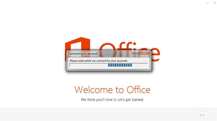 Office 365 is cloud-based and requires a Microsoft account.