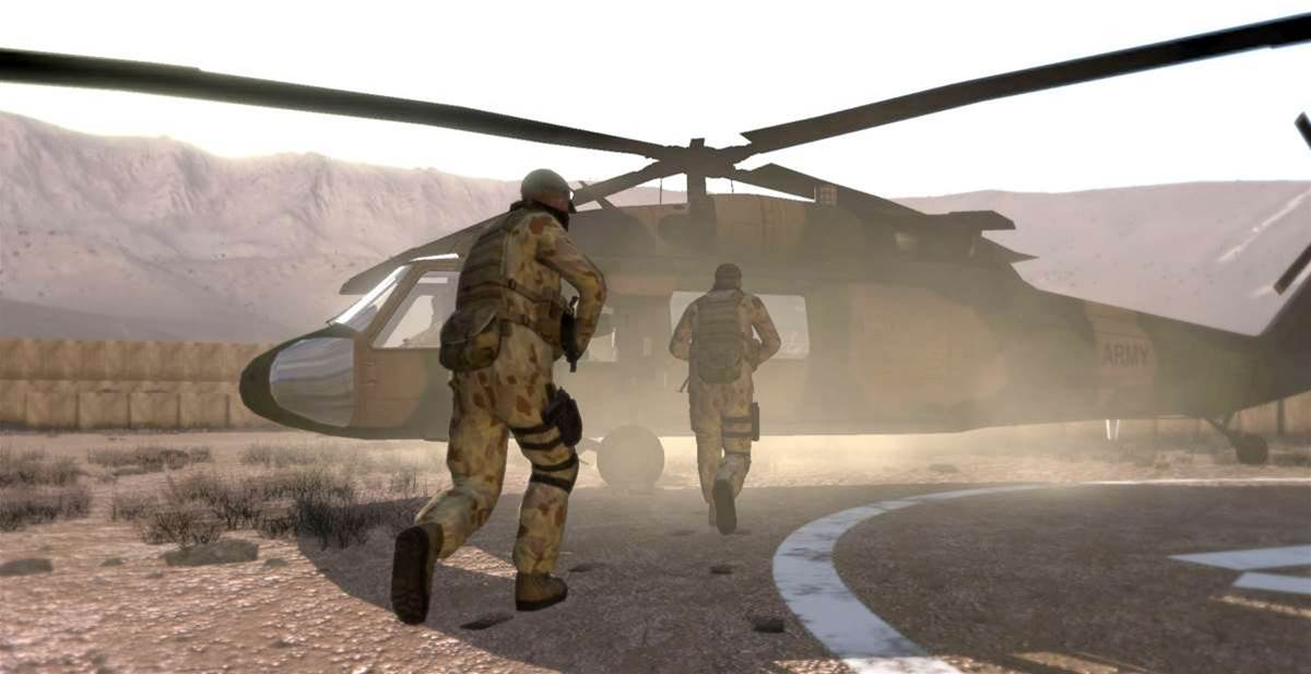 Most of the Australian Defence Force and a range of coalition weapons systems are represented in VBS2.