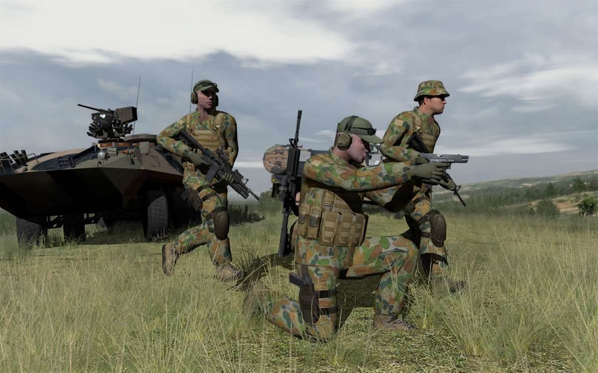 Photos: Army upgrades battlefield simulator