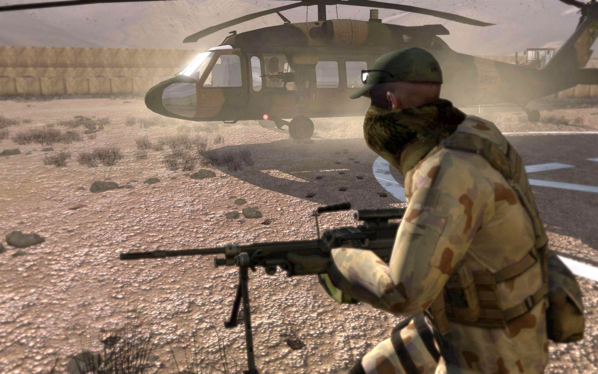 "The ADF does not consider the VBS as a gaming system. ""The scenarios and supporting terrain databases developed by Army are for specific military training purposes,"" a Defence spokeperson said. However, a version of the product was available for Defence personnel to use on their home computers along with commercial variants."