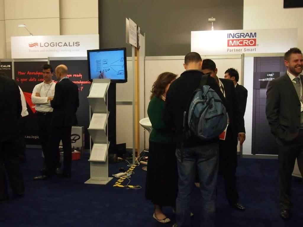 Ingram Micro's session covered EMC's virtual infrastructure Vspex.