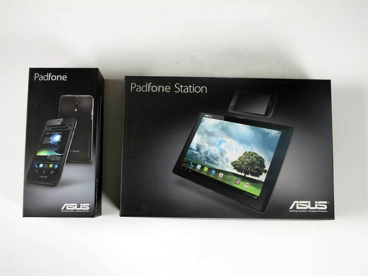 The PadFone smartphone and tablet station are bundled together for $999. An Asus Transformer keyboard attachment is also available for the device.