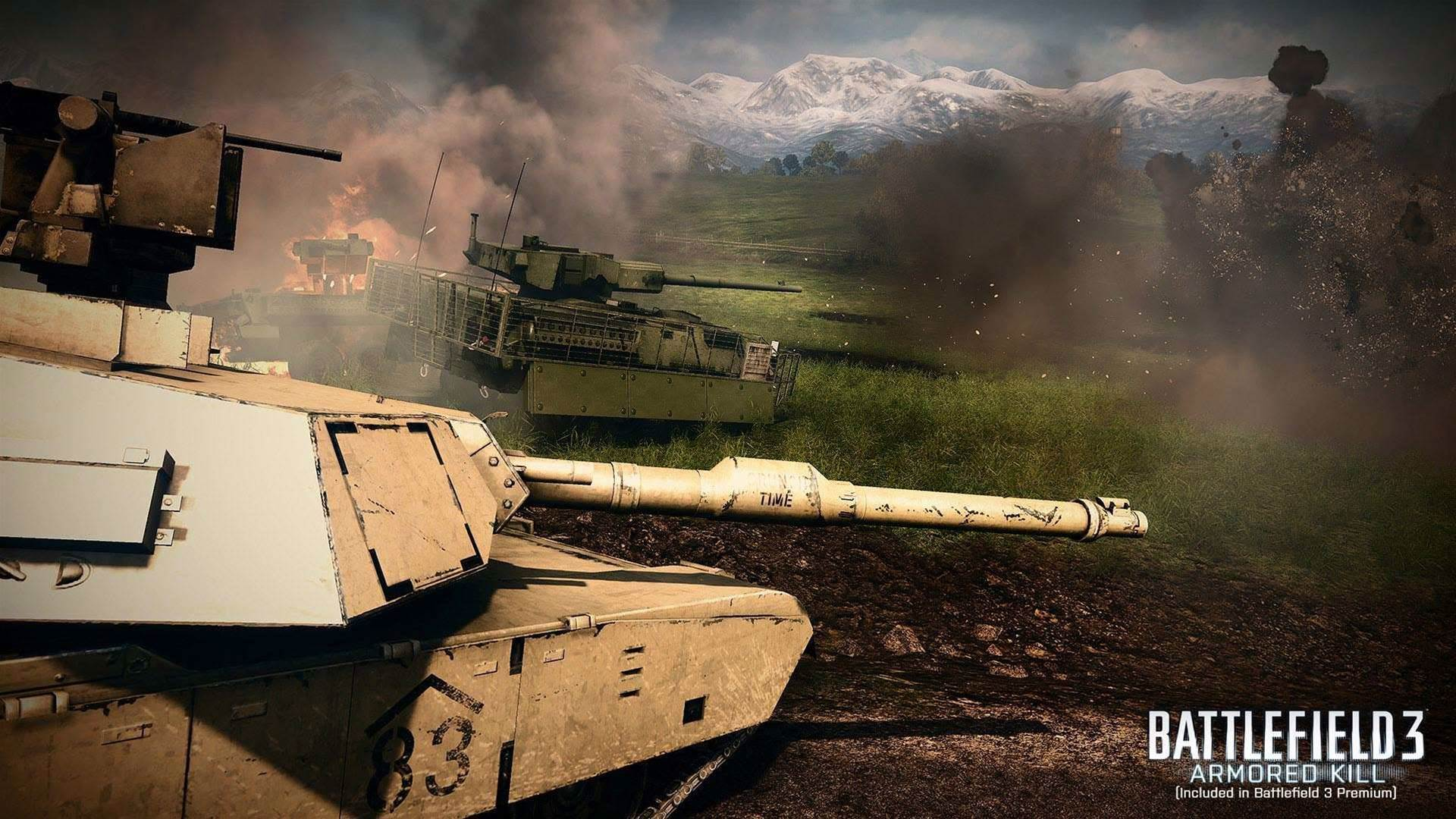 Three new screens from Battlefield 3: Armoured Kill