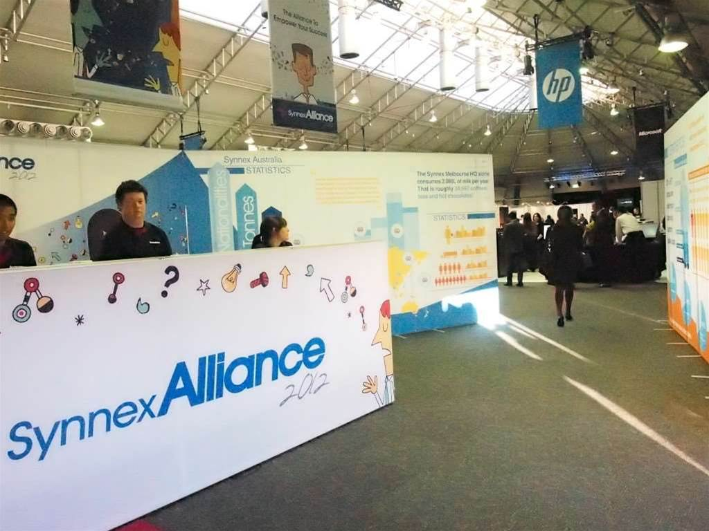 <h2>Synnex Alliance Roadshow- Sydney</h2> The event was held at Sydney Showgrounds in Homebush. Up to 450 partners attended.
