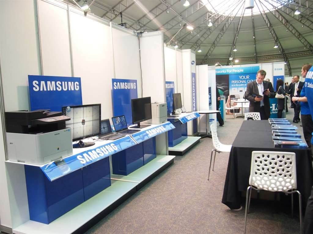 <h2>Synnex Alliance Roadshow- Sydney</h2> The Samsung display.
