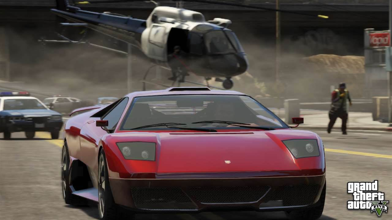 New GTA V screenshots show planes, bikes, cars and more