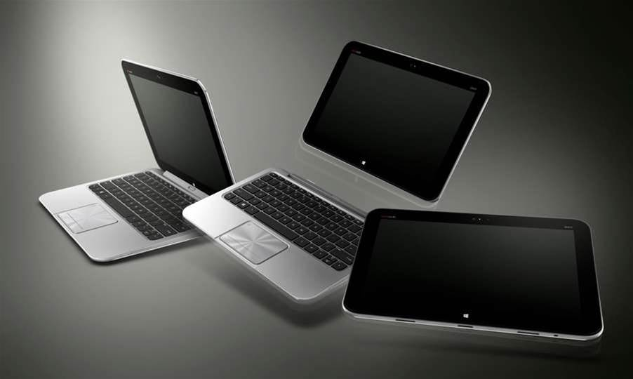 HP unveiled its first Windows 8 tablet/notebook hybrid at the IFA trade show in Berlin yesterday.