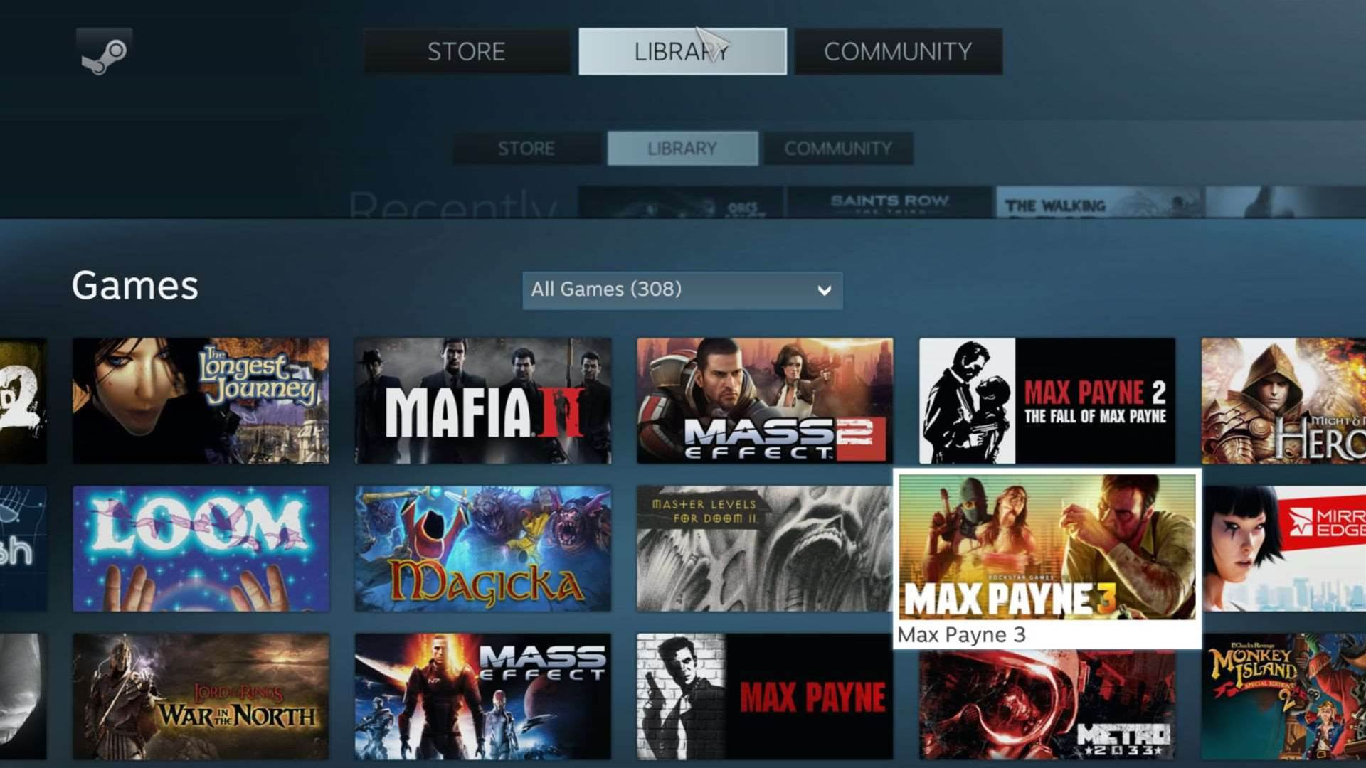 First Look: Steam's Big Picture Mode