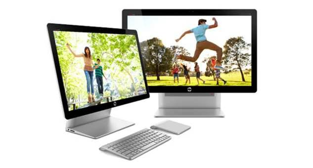 In pictures: HP's new Windows 8 all-in-one PCs