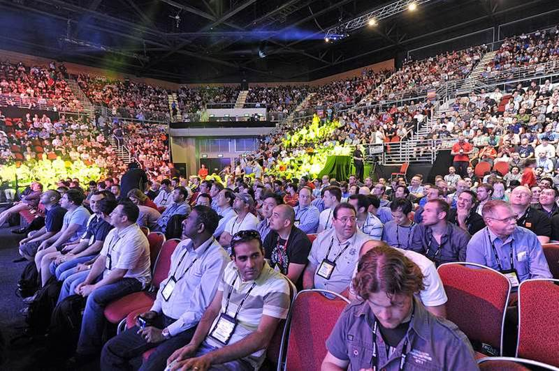 Photos: TechEd 2012 keynote