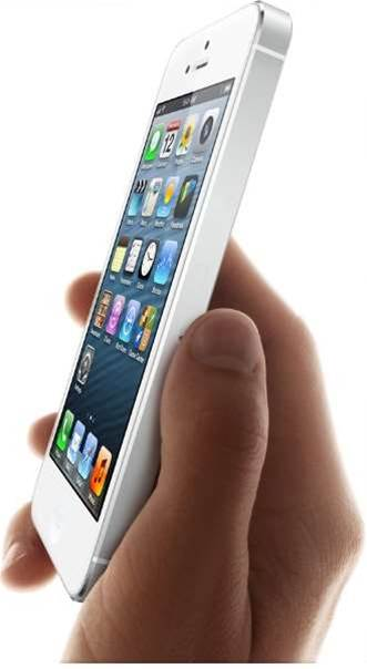 "The long-awaited iPhone 5 launched today, with Apple claiming to have ""set a new bar"" on previous models. The smartphone has a list of new specs and comes in both white and black, in a two-tone design."