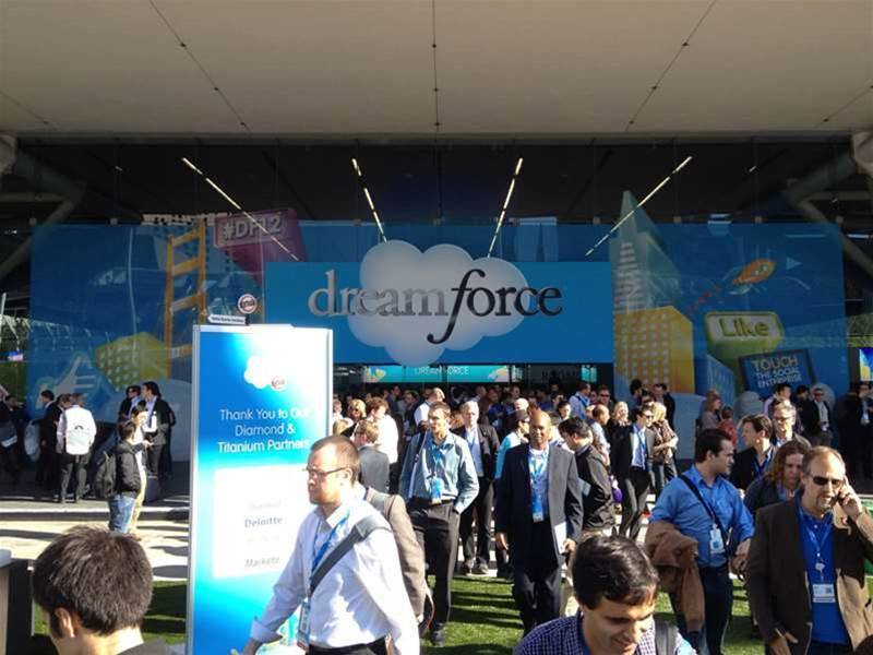 Salesforce.com's 10th Dreamforce conference attracted 90,000 delegates to San Francisco's Moscone Center.