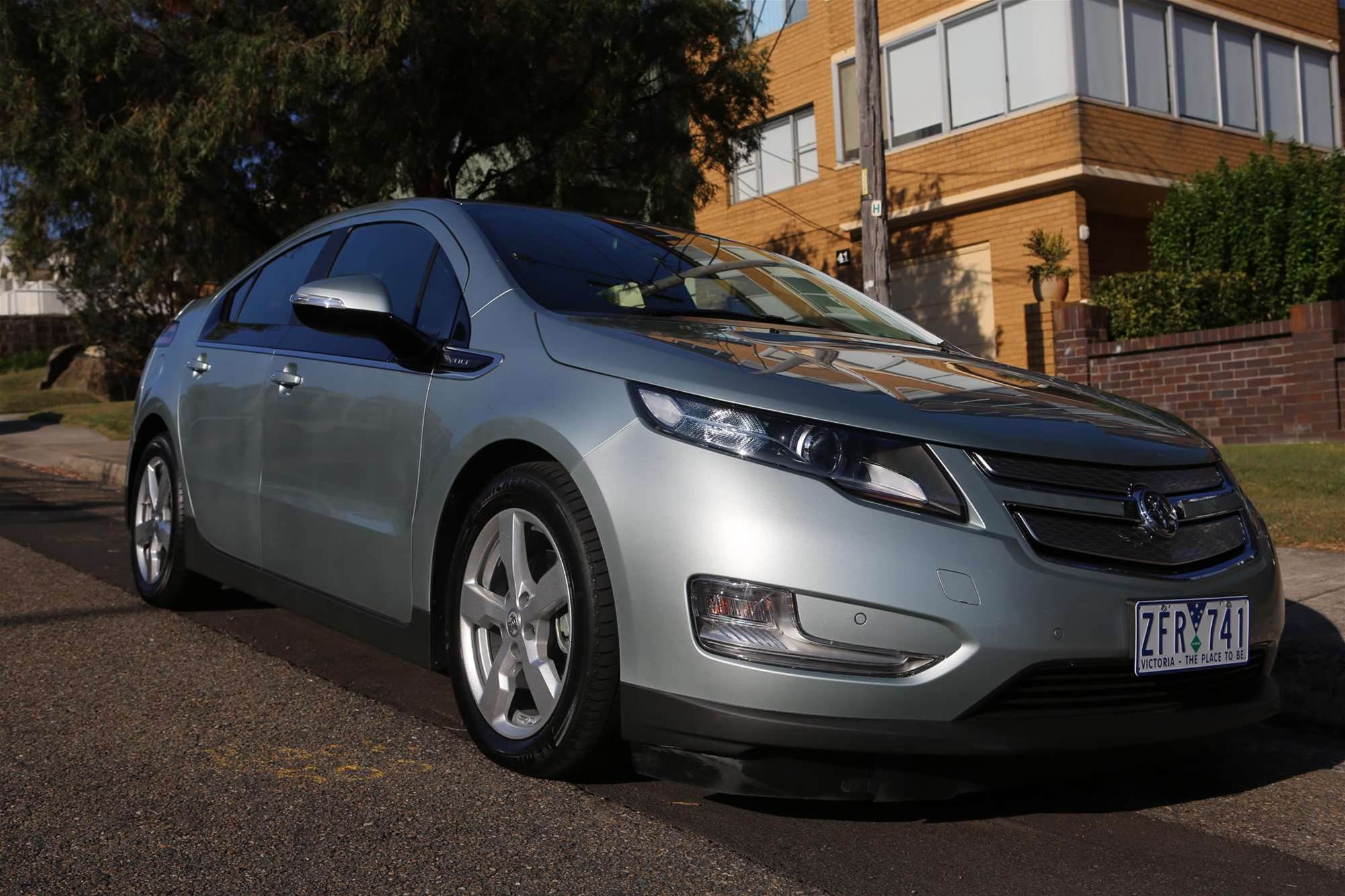 In Pictures: Hands on with the Holden Volt