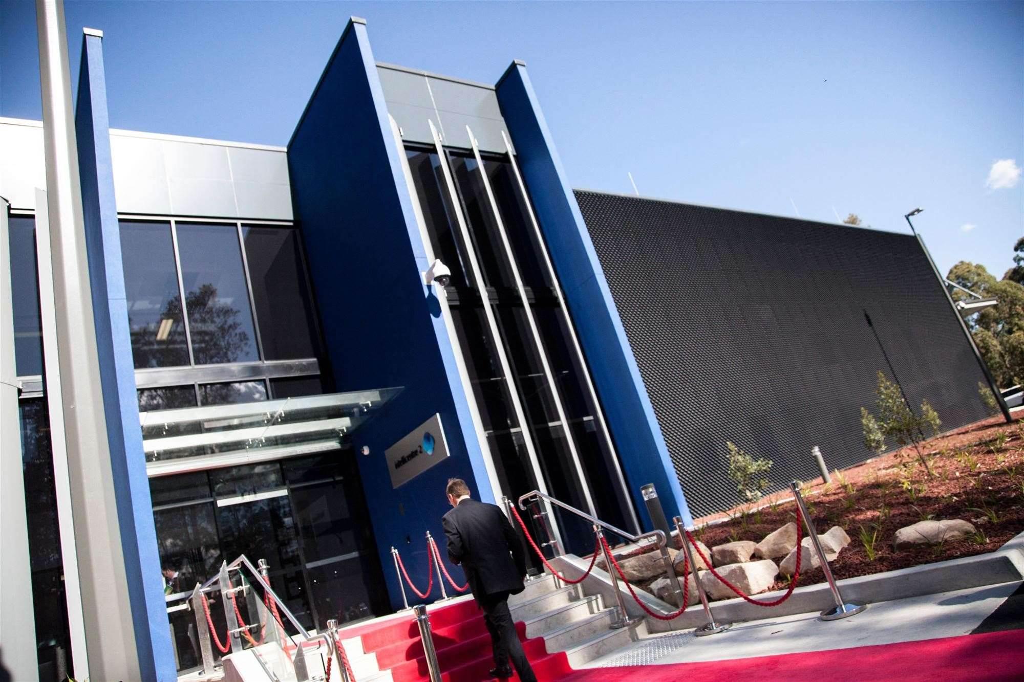 Photos: Macquarie Telecom's Intellicentre 2