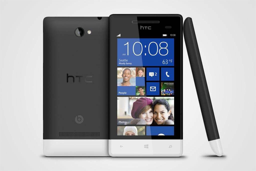 With just over two weeks until the launch of Microsoft's next-generation operating system, Windows 8, several handset makers have jumped on board with Windows Phone 8 smartphones.</p> <p>Microsoft has named HTC's two new products as the flagship devices for the mobile OS. The 8X and 8S (pictured) pit HTC directly against Nokia and its Lumia 920 and 820 with equally colourful and sleek designs.</p>