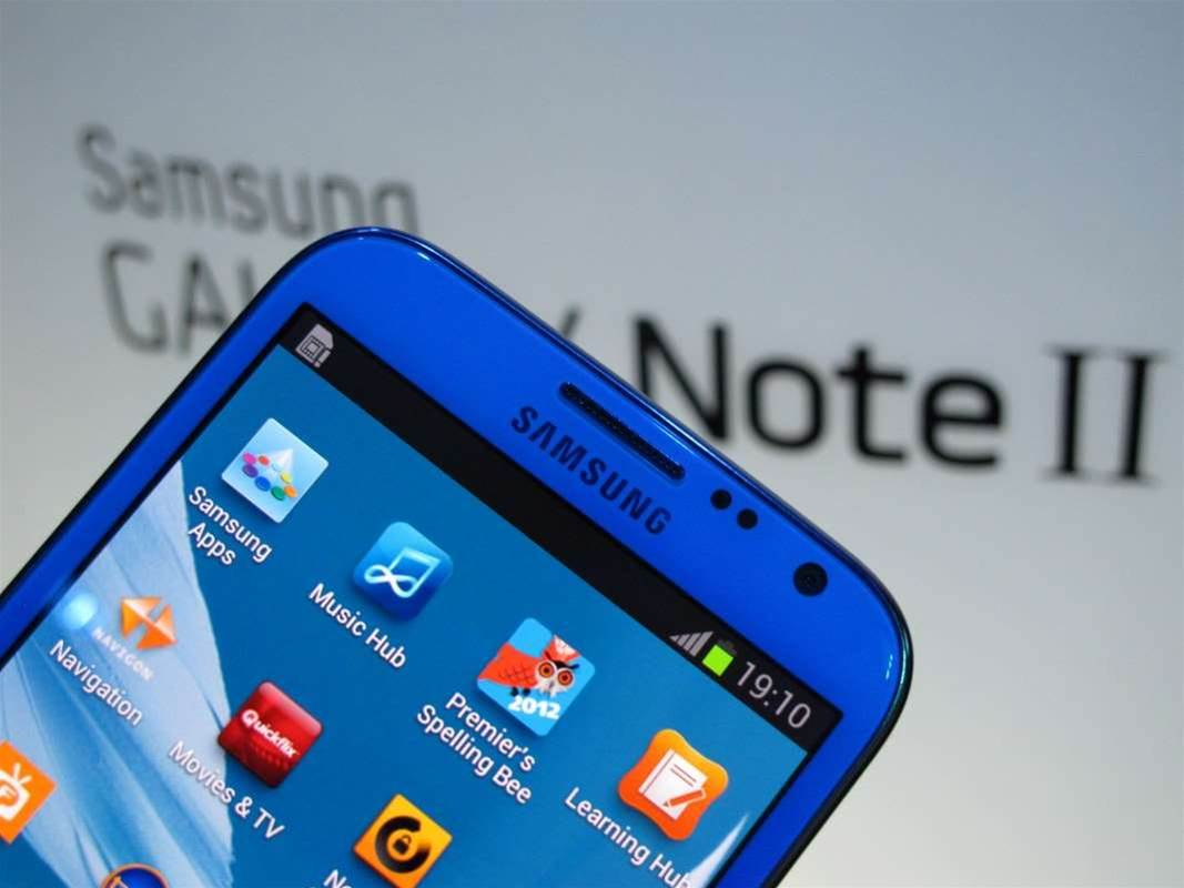 In Pictures: Samsung Galaxy Note 2 launch