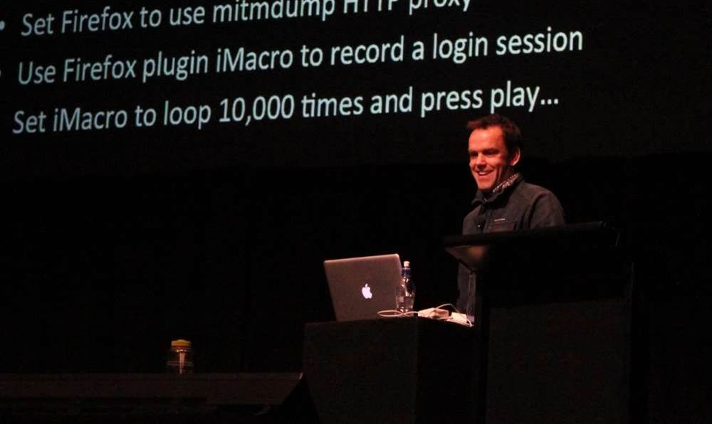 In pictures: #Kiwicon day two