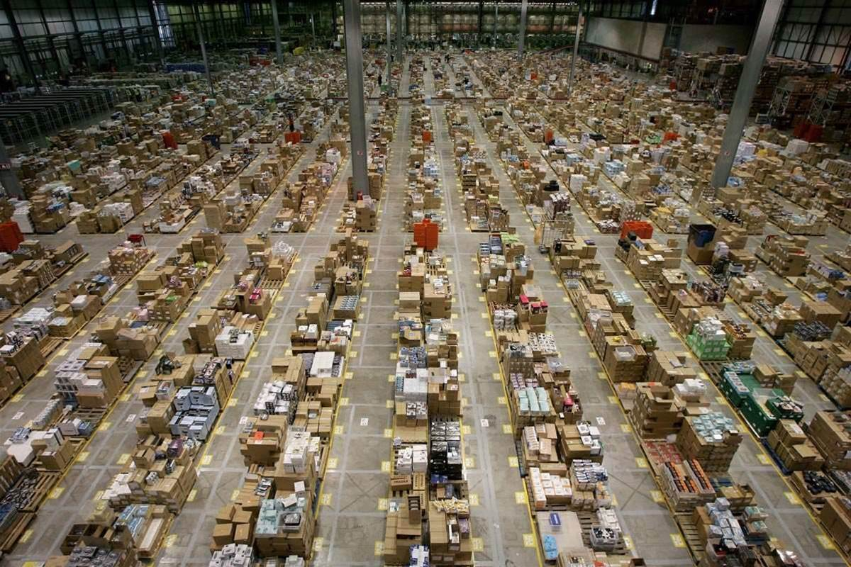 In pictures: inside Amazon's fulfillment centres