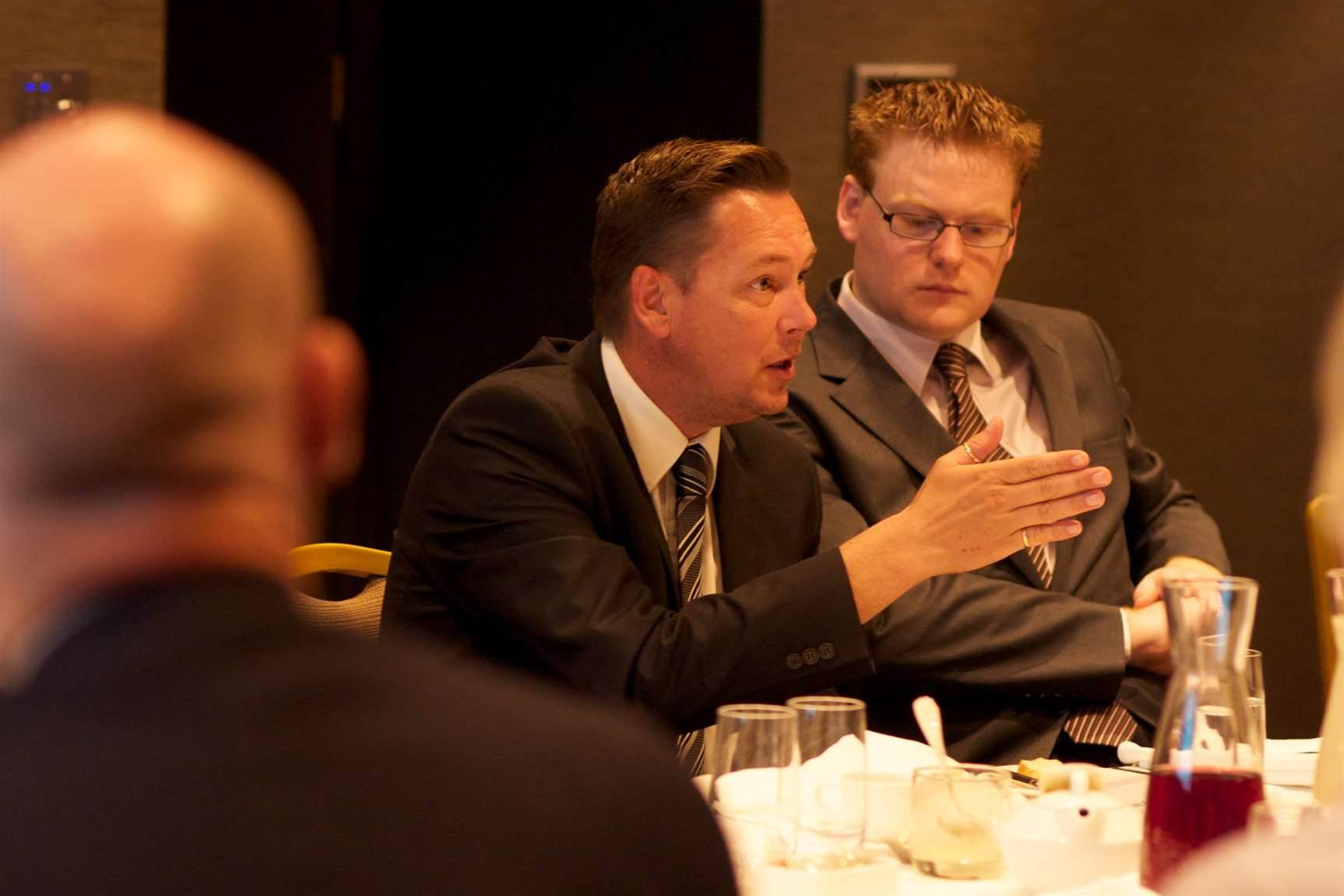 In pictures: SIEM roundtable