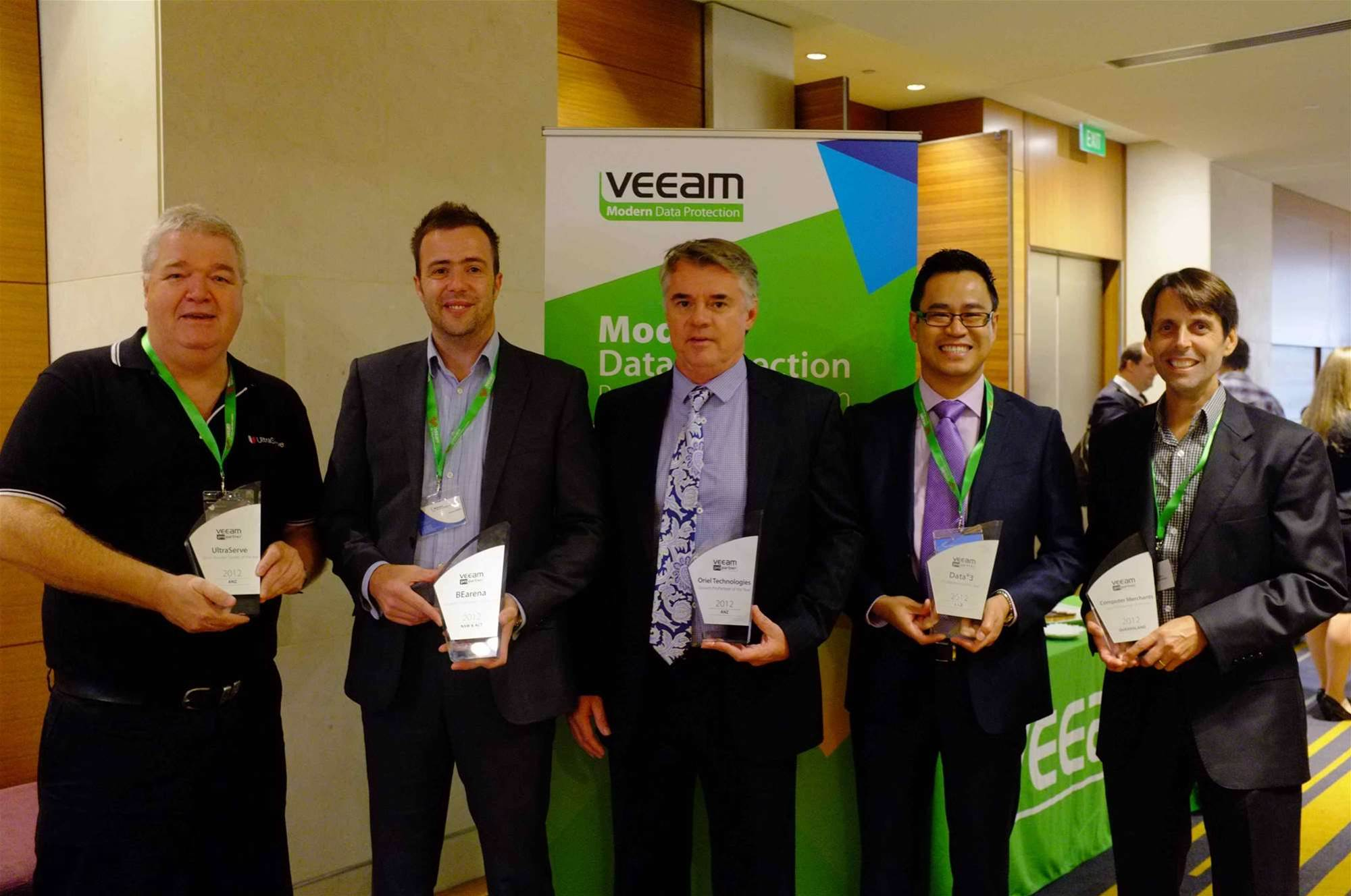 In pictures: Veeam ProPartner awards