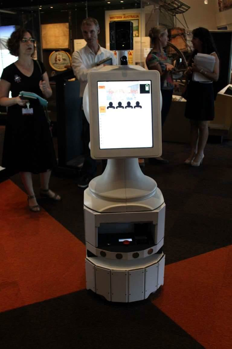 Photos: CSIRO trials telepresence robot