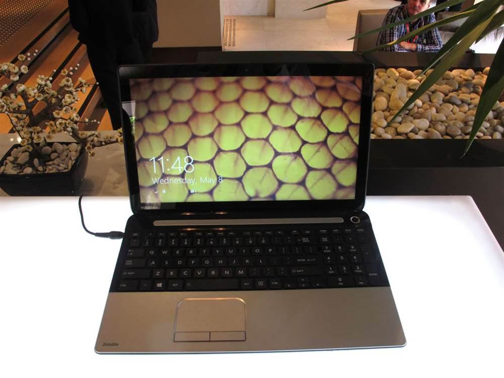 In pictures: Toshiba's new 2013 laptops