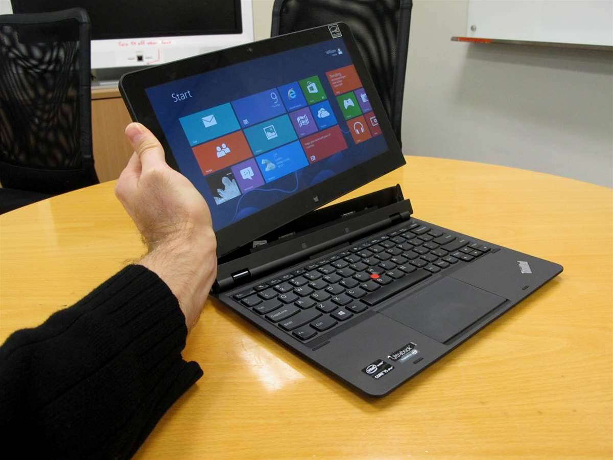 In pictures: the future of biz laptops