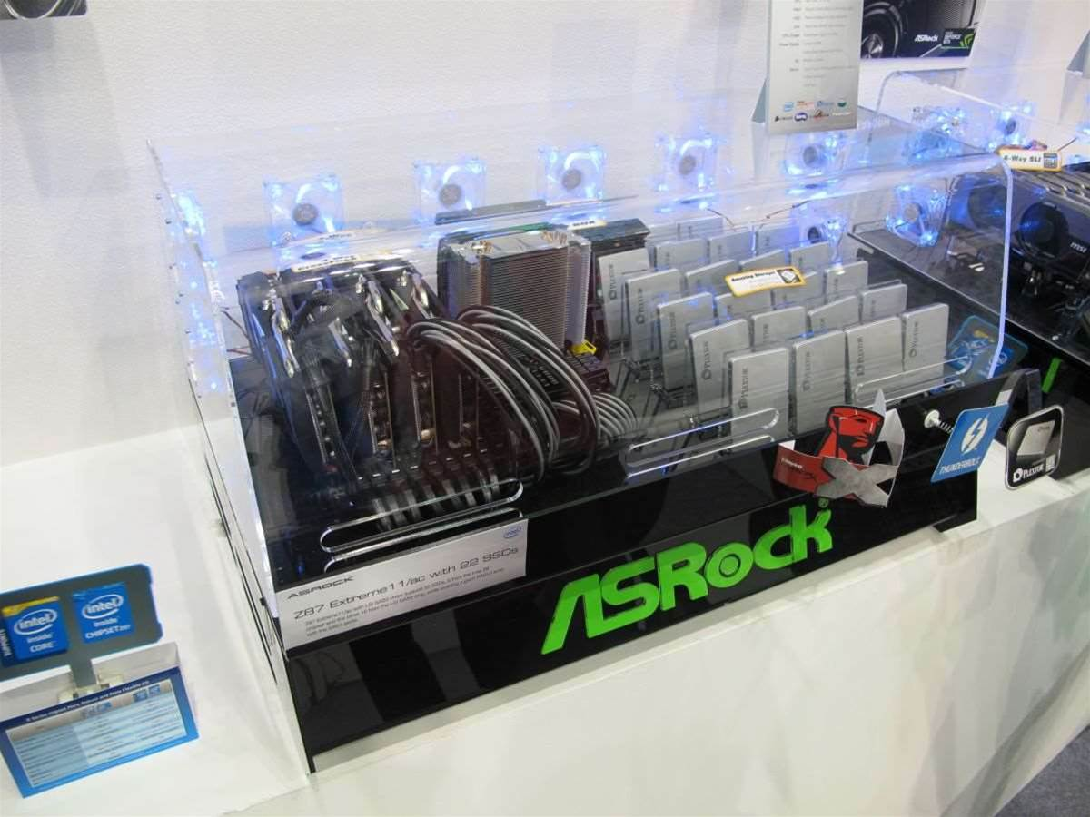 Computex 2013: ASRock's Z87 Gaming and OC motherboard lineup