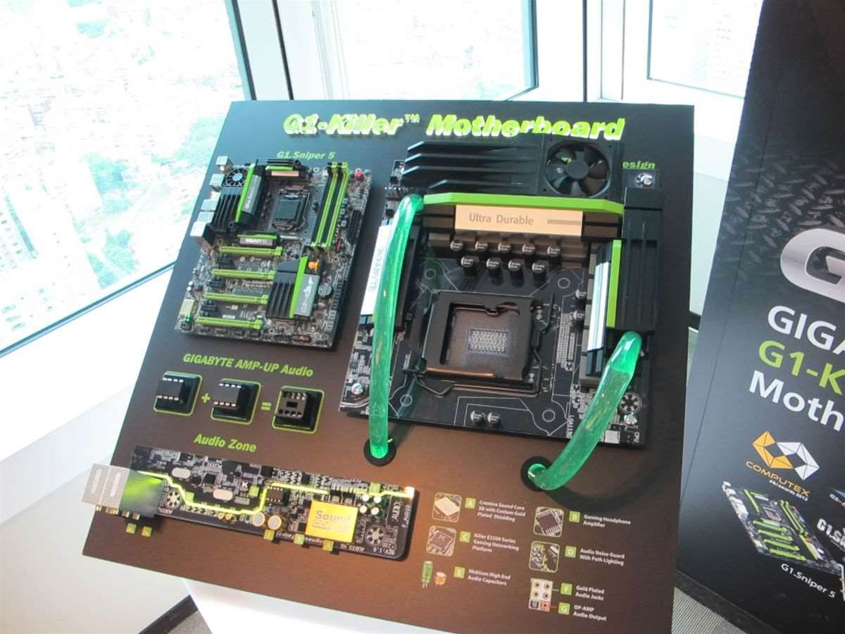 Computex 2013: Gigabyte's full Z87 Motherboard lineup