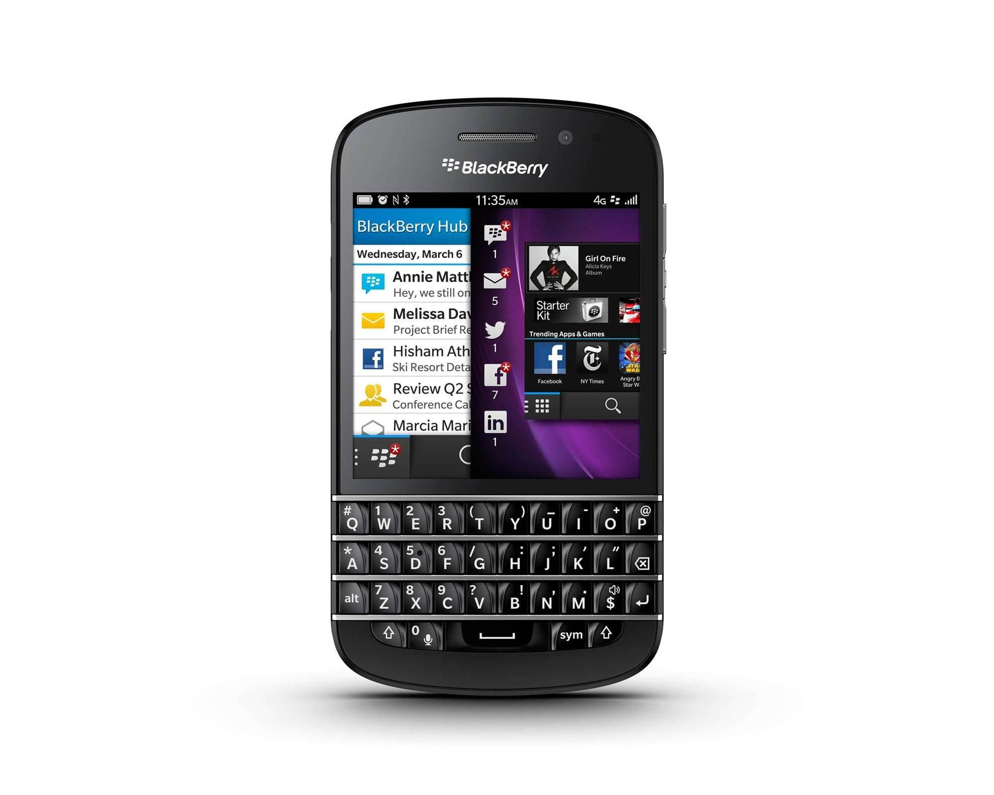 In pictures: Blackberry Q10