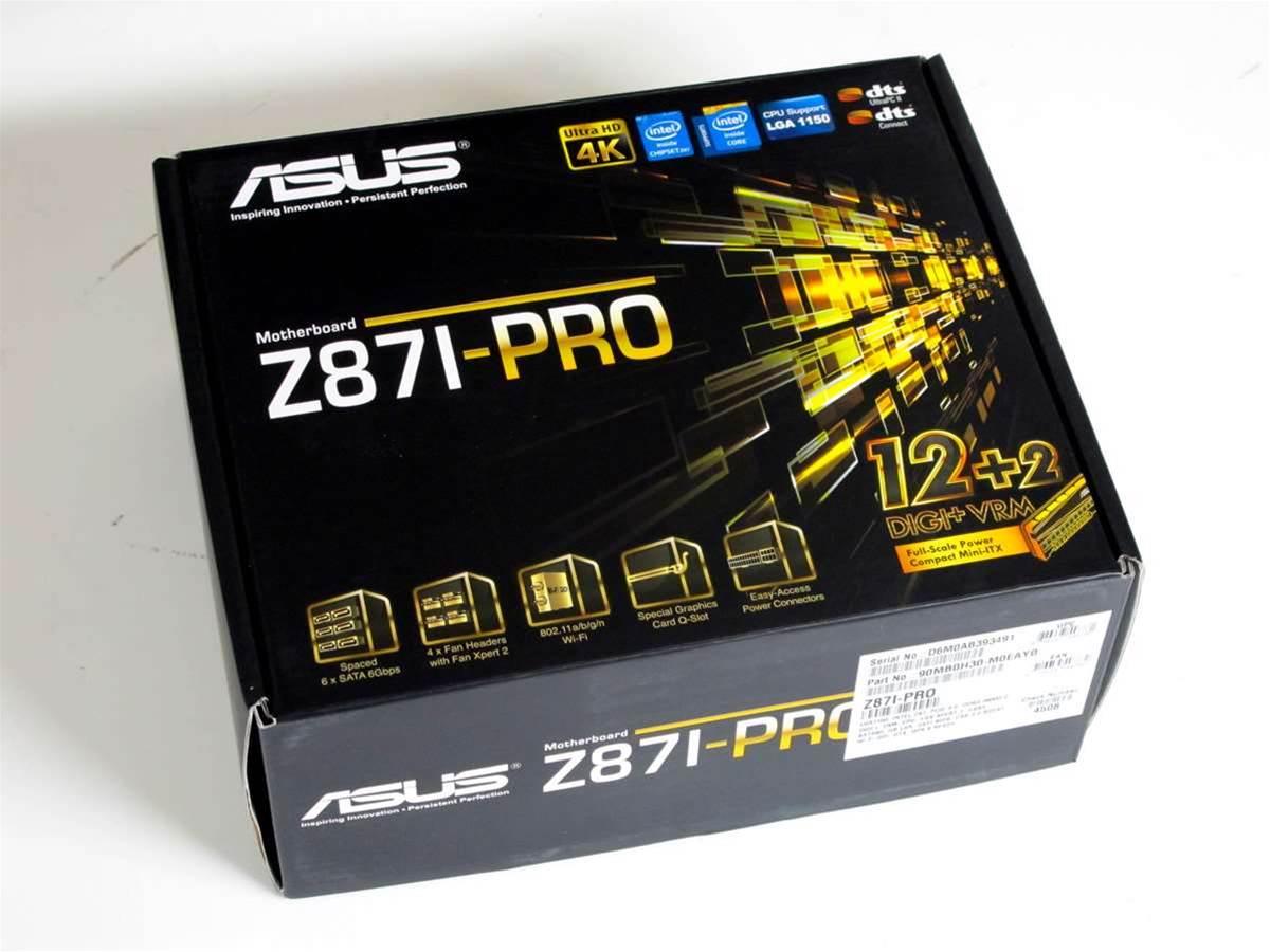 Unboxed: ASUS Z87I-PRO