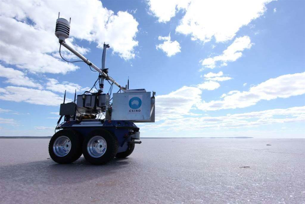 Photos: CSIRO's outback rover in action