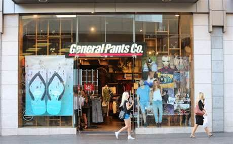 Photos: General Pants launch iPad kiosks